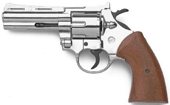 Colt Python Replica 4 357 Magnum Blank Firing Gun Nickel