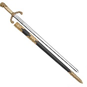 Peter the Great Sword, Gold and Black