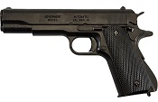 Replica M1911A1 Government Automatic Pistol Non-Firing Gun Black Finish with Black Composite Grips