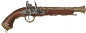 Pirate Flintlock Pistol.