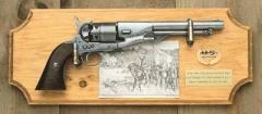 Civil War Union Framed Set Light Wood