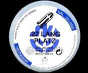 .22LR Blanks, 100 Pack