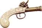 Ladies' Flintlock Pistol.